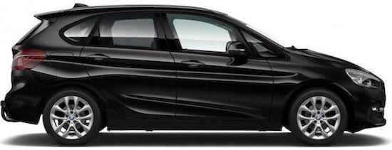 BMW 220 i Active Tourer SportLine mit 192 PS für 282,52€ mtl.   LF: 0.62