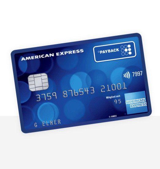 Payback American Express Kreditkarte dauerhaft kostenlos (ApplePay-fähig) + 3.000 Punkte (30€) geschenkt
