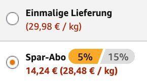 Ausverkauft! 25er Pack Grillido Sportwurst Original für 14,24€ (statt 25€)   Prime