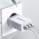 DeepDream USB-Ladegerät 3-Port 30W mit Quick Charge 3.0 für 8,39€ (statt 12€)