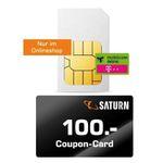 Knaller: 🔥 Telekom Datenflat mit 15GB LTE 150 Mbit für 9,99€ mtl. – dazu 100€ Saturn Gutschein