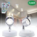 2er Pack Elfeland LED-Wandstrahler mit Schalter und Fernbedienung für 12,59€ (statt 23€)