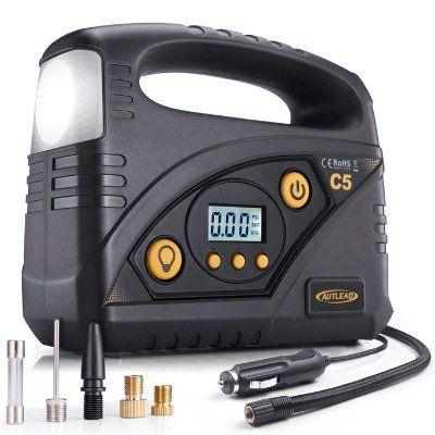 Vorbei! Autlead 12V Luft Kompressor C5 mit bis zu 40l/m und LED Taschenlampe für 15,99€ (statt 40€)