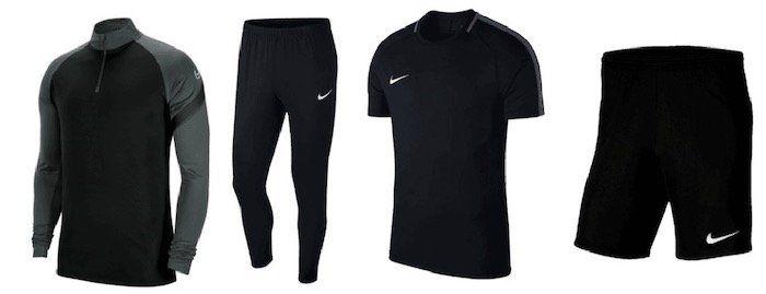 Nike Academy Trainingsset (Oberteil, Shirt, Hose, Shorts) für 54,95€ (statt 79€)