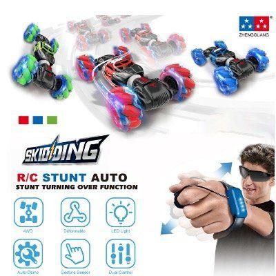 Stunt Car mit Allrad und Gesten Steuerung in verschiedenen Farben für 25,99€   Versand aus DE