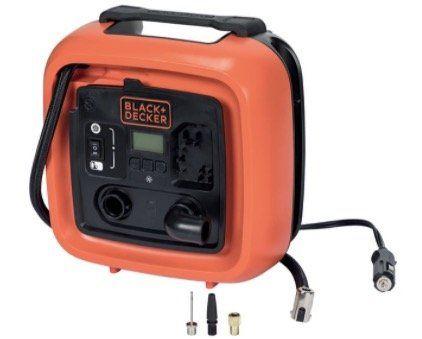 Black & Decker ASI400 XJ Mini Kompressor mit max. 11 bar für 34,94€ (statt 41€)