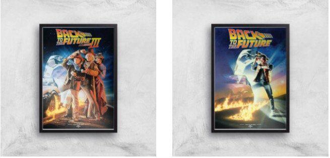 Zurück in die Zukunft T Shirt + Art Print Poster für 14,99€(statt 28€)