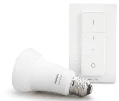 Ausverkauft! Philips Hue White E27 Bluetooth Warmweiß Leuchte + Dimmschalter für 17,59€ (statt 23€)   Media Markt Club