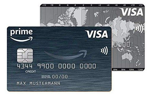 Amazon VISA Kreditkarte mit 40€ Startguthaben + bis zu 3% Cashback bei Amazon Einkäufen