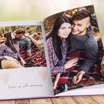 140-seitiges Colorland Fotobuch A4 mit Sichtfenster für 30,25€