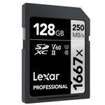 Lexar Professional 1667x 128GB SDXC UHS-II Karte für 39€ (statt 48€)