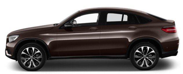 Gewerbe: Mercedes GLC 300 Coupe E4 Matic Automatik mit 320PS für 305€ netto mtl.   LF 0,51