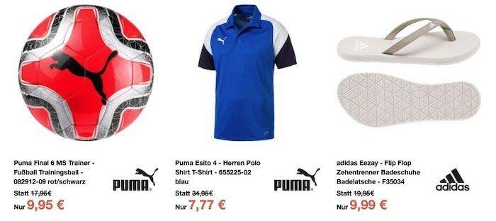 Sport 1A mit über 250 Preisknallern unter 10€   z.B. Erima Cooln Tape Cold Compression für 1€