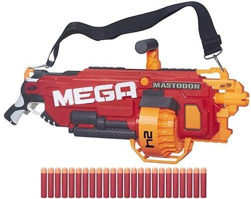 Nerf N Strike Elite Mega Mastodon Nerf Gun für 36,98€ (statt 65€)