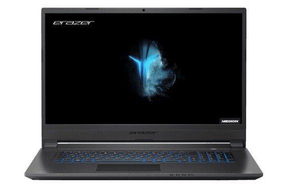 Medion Erazer P17613   17,3 Zoll Gaming Notebook mit 1TB SSD + GTX 1650 für 999€ (statt 1.299€)