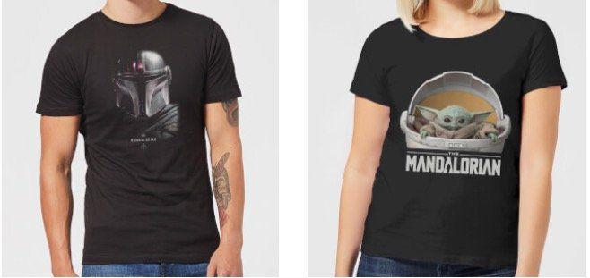 Rabatt von 40% auf Star Wars The Mandalorian Klamotten + VSK nur 1,49€