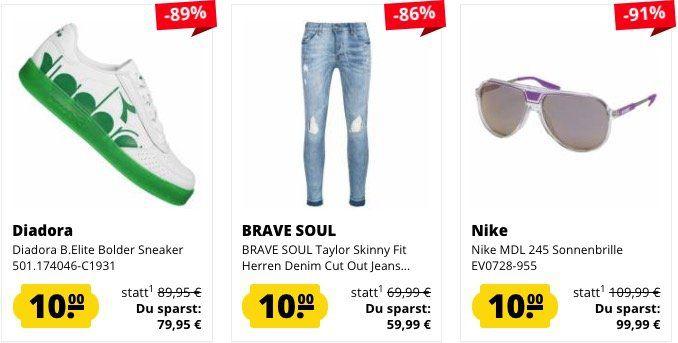 Bis 15 Uhr 🔥 SportSpar mit 10€ Mega Sale (über 100 Produkte)   z.B. Jeans oder Sneaker