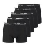 5er Pack HEAD Basic Herren Boxershorts in 5 Farben und Restgrößen für je 13,13€ zzgl. VSK (statt 21€)
