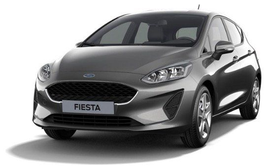 Gewerbe: Ford Fiesta Cool&Connect Schaltwagen in Magnetic Grau mit 101PS für 70€ mtl.   LF 0,48