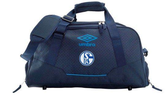 Umbro FC Schalke 04 Sporttasche Accuro Small Holdall in Navy Blau für 14,99€ (statt 26€)