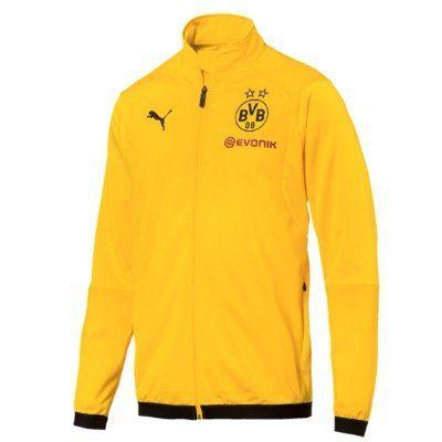 Puma BVB Borussia Dortmund Herren Trainingsjacke in Schwarz Gelb für 19,09€ (statt 40€)