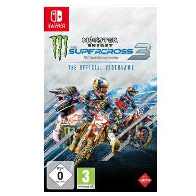 Monster Energy Supercross: The Official Videogame 3 für die Switch für 34,99€ (statt 44€)