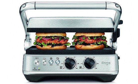 Sage Appliances SGR700 BBQ & Press Kontakt Grill für 129€ (statt 259€) inkl. Waffelplatten!