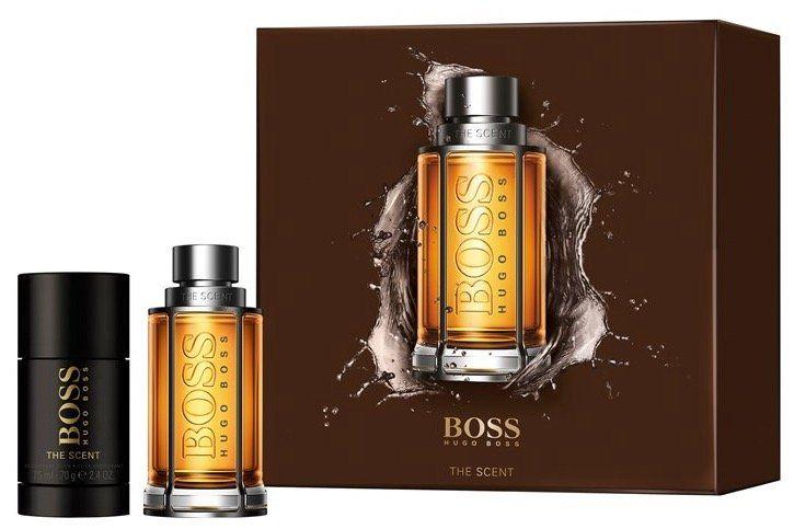 Hugo Boss The Scent Geschenkset (EdT 50ml + Deostick) für 30,71€ (statt 43€)