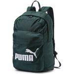 Puma Classic Rucksack in Grün mit gepolstertem Rückenteil für 7€ (statt 21€)