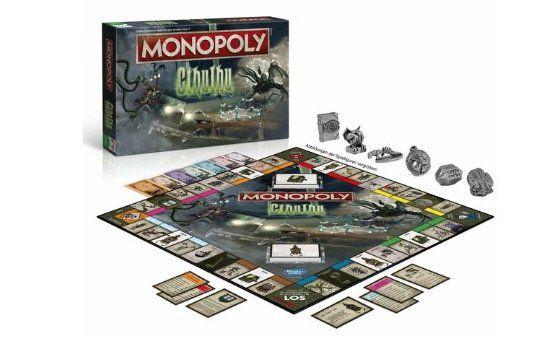 Brett Gesellschaftsspiel Monopoly Cthulhu für 24,94€ (statt 35€)