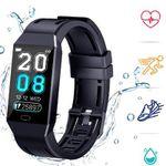 COULAX Fitness-Armband mit Herzfrequenz 1,14 Zoll IP68 für 16€ (statt 40€)