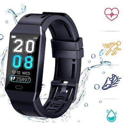 COULAX Fitness Armband mit Herzfrequenz 1,14 Zoll IP68 für 16€ (statt 40€)