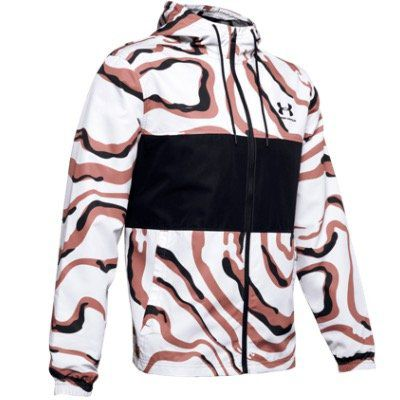 Under Armour Kapuzenjacke Sportstyle Windbreaker Printed Jacket für 42,95€ (statt 65€)