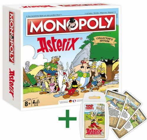 Monopoly Asterix und Obelix Collectors Edition + Top Trumps Quartett für 46,71€ (statt 65€)