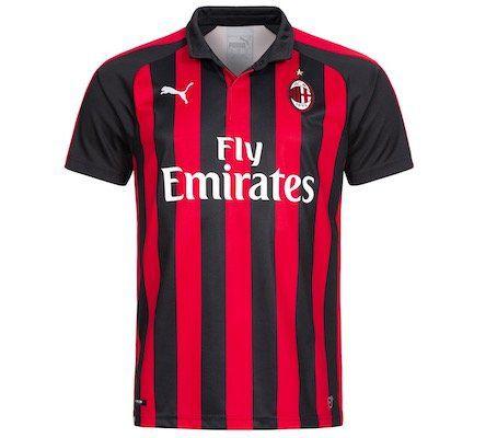 Puma AC Mailand Home Trikot 2018/2019 für 23,94€ (statt 36€)