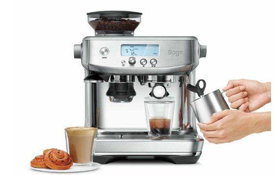 Sage The Barista Pro Espresso Maschine mit Siebträger aus Edelstahl inkl. Barista Pack für 569,90€ (statt 778€)