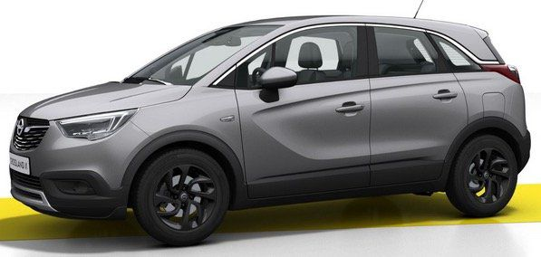 Privat: Opel Crossland X Innovation 1.2 Direct Injection Turbo mit 110PS für 99€ mtl.   LF 0,51