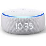 Amazon Echo Dot (3. Generation) mit Uhr für 24,99€ (statt 45€) + 3 Monate Deezer gratis – nur Neukunden
