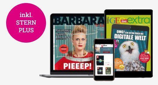 40 E Paper Magazine (Stern, Chefkoch, Geolino uvm.) gratis + automatische Kündigung