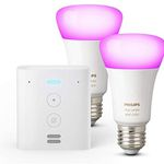 Echo Flex + 2er Pack Philips Hue Color LED-Lampen für 64,99€ (statt 108€)