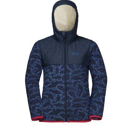 Jack WolfskinNordic Hooded Kinder Fleecejacke für 34,90€ (statt 48€)   wenig Größen