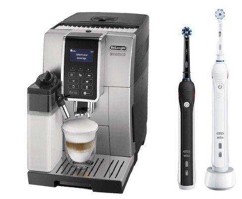 DELONGHI ECAM 352.55.S Kaffeevollautomat + ORAL B PRO 2 2900 für 499€ (statt 663€)