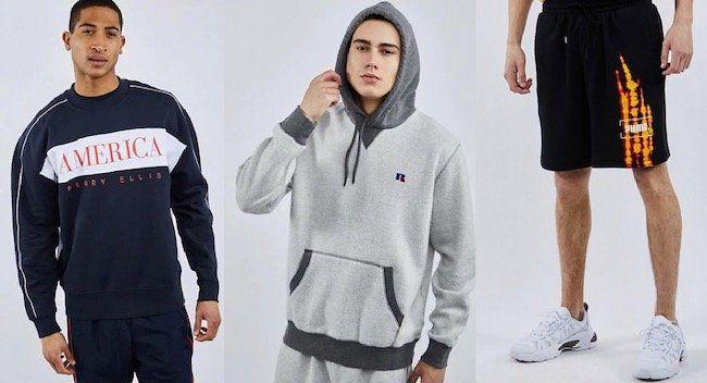 Foot Locker mit 25% Rabatt auf Kleidung + keine VSK   z.B. Ellesse X Smiley Shorts für 26,24€ (statt 38€)