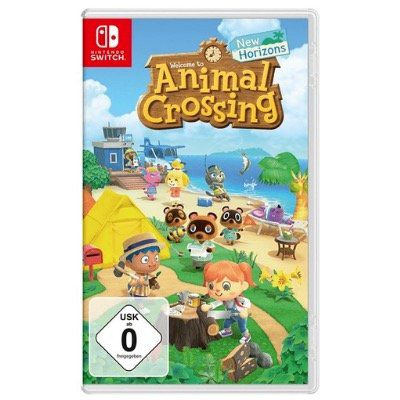 Nintendo Switch Spiel Animal Crossing: New Horizons für 41,58€ (statt 49€)