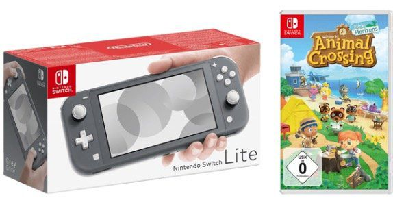 Nintendo Switch Lite Konsole inkl. Animal Crossing: New Horizons für 205,87€(statt 254€)