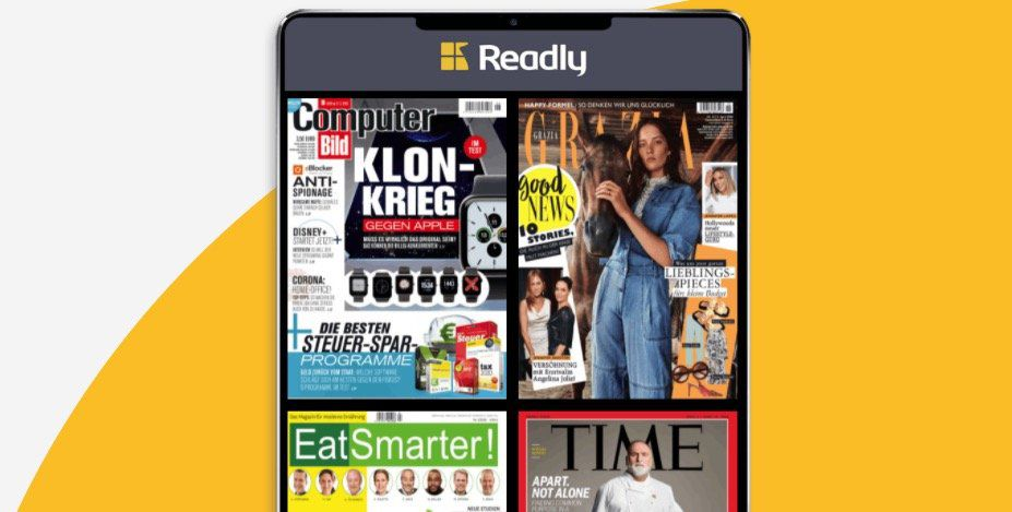 Readly Magazin Flatrate: 3 Monate gratis (statt 29,97€)
