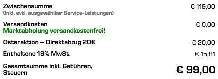 AVM FRITZ!WLAN Repeater 3000 für 99€ (statt 112€)