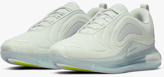 Nike Air Max 720 in Weiß/Silber für 79,78€ (statt 100€)