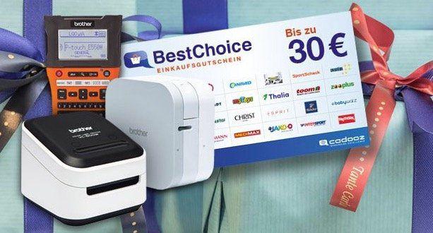 Brother VC 500W Vollfarb Etikettendrucker mit WLAN ab 99,90€ (statt 113€) + gratis 30€ BestChoice Gutschein
