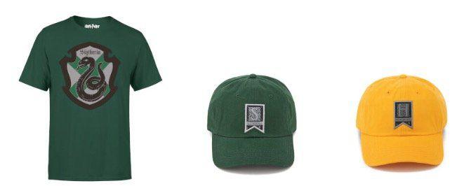 Hogwarts Haus Shirts mit einer Kappe zusammen für 13,99€